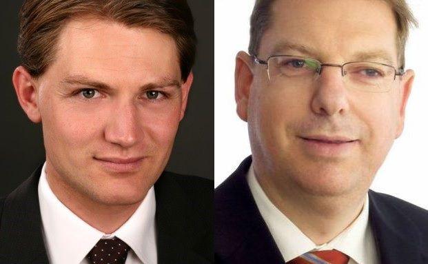 Michael Thaler, Prokurist der Top Vermögen, Wolfgang Juds, Geschäftsführer von Credo Vermögensmanagement