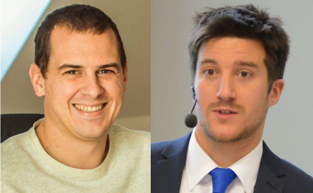 Tobias Bierl (links) und Philip Wenzel