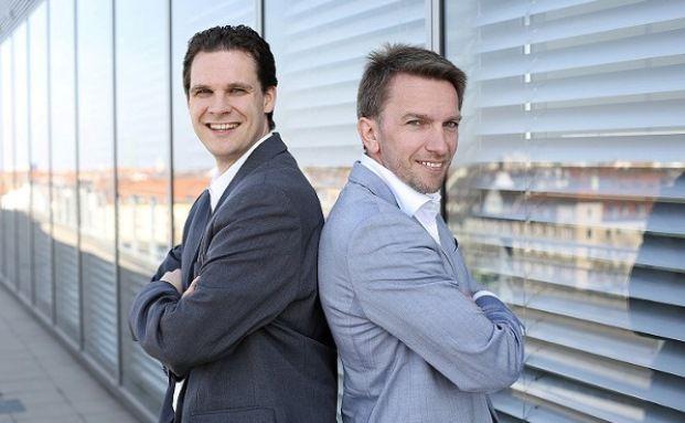 Tobias Haff (links) und Daniel Hering. Foto: Procheck24