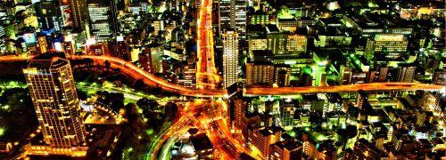 Tokio, Blick von oben; Quelle: Fotolia