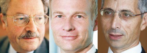 Paul Reed, Jürgen Hackenberg, Allan Conway