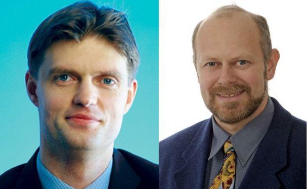 Martin Siegel, Geschäftsführer der Fondsboutique Stabilitas und Oleg Biryulyov, Manager des JPM Russia