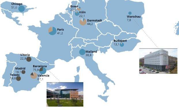 Regionale Verteilung der Immobilien im Fonds. Quelle: Fonds-Factsheet