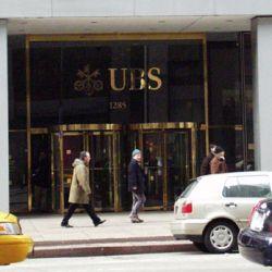 Das UBS-Hauptgebäude in New York