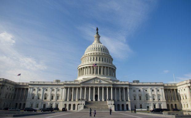 Im Washingtoner Capitol wird der Kongress der Vereinigten Staaten einen Kompromiss finden müssen, um eine Pleite der USA abzuwenden. (Foto: Getty Images)