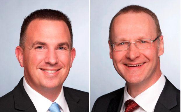 Carsten Uekermann (links) und Klaus Spöri von Frankfurt-Trust