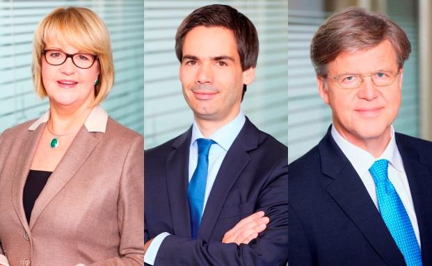 Von links: Angelika Kunath, Lars N. Follmann und Michael Günther. Foto: IWH