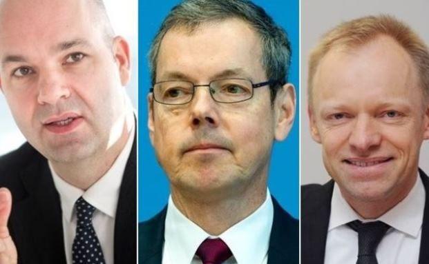 Marcel Fratzscher, Peter Bofinger und Clemens Fuest (v.l.) fordern die Abschaffung der Riester-Rente. Foto: © dpa/picture alliance