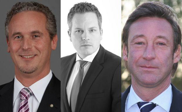 Von links: Andreas Blau, Marco Muschiol und Bert Heinen