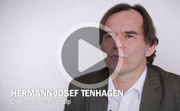 Hermann-Josef Tenhagen gibt im Video Tipps zur Geldanlage. Foto: © Screenshot