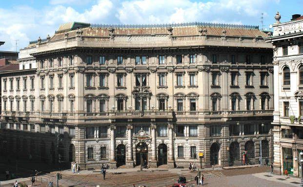 Sitz der Unicredit in Mailand. Die italienische Großbank interessiert sich nicht für die Postbank (Foto: Unicredit)