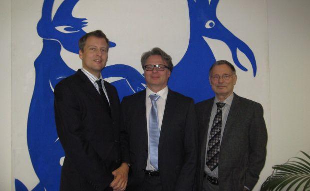 Der Vorstand der R.I. Vermögensbetreuung (von links): Bastian Bohl, Heiko Hohmann und Rainer Imhof