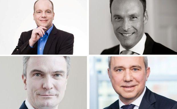 Andreas Görler, Sascha Anspichler, Markus Korfmacher, Uwe Zimmer (von links oben nach rechts unten)
