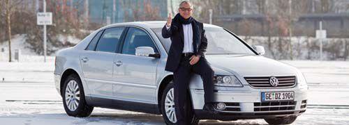Auch Felix Magath gibt Gas mit VW<br/> Quelle: VW