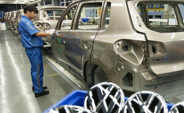 Volkswagen-Werk in Anting, China. Der Wolfsburger Konzern gehört zu den Favoriten von Fondsmanager Matt Siddle. Foto: Volkswagen AG