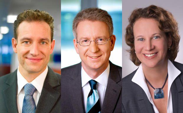 Von links: Markus Kaiser (Ex-Geschäftsführer von Veritas), Hauke Hess und Kerstin Behnke (beide neue Geschäftsführer von Veritas)