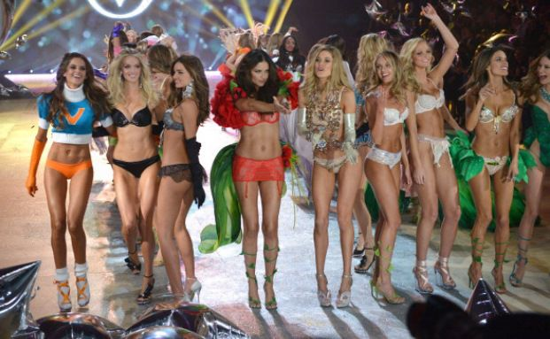Models von Victoria's Secret in New York: Der Mutterkonzern Limited Brands gehört zu den besten Dividendenzahlern, Quelle: Getty Images