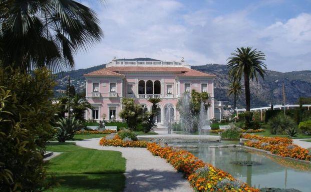 Die Villa von Ephrussi de Rothschild bei Nizza