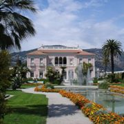 Villa der Milliardärstochter Béatrice de <br> Rothschild-Ephrussi an der Côte d'Azur