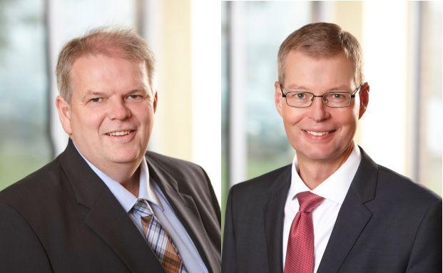 Frank von Bargen (links) und Hanno Müller, Nordtreuhand