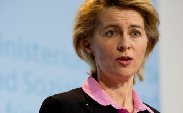 Ursula von der Leyen, CDU <br> Quelle: Getty Images