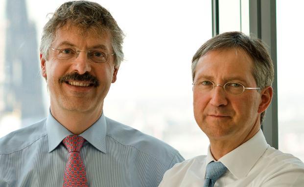 Kölner Erfolgsduo: Philipp Vorndran (links) und Bert Flossbach von Flossbach von Storch