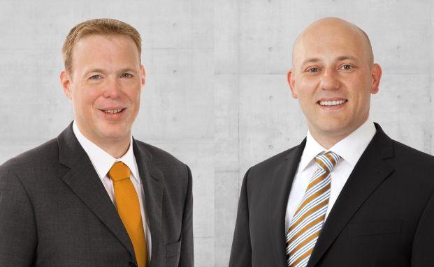 Benjamin Waeger und Jürgen Stigler, die neuen Geschäftsführer der Project PM Generalplanung