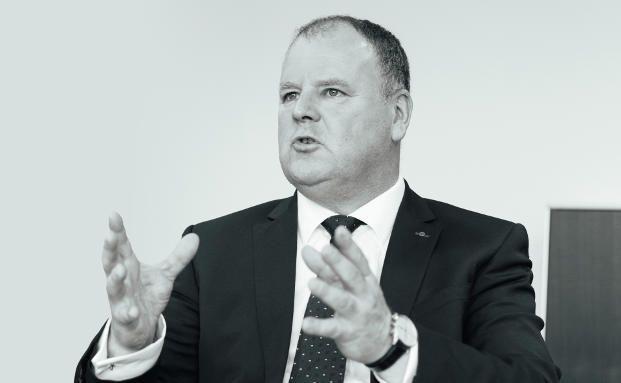 Jürgen Wahner (51) ist seit 1994 in leitenden Funktionen des Vertriebs für die Nürnberger tätig. Seit 2015 verantwortet er als Direktor den Bereich Maklervertrieb der Versicherung. Foto: Felix Röser