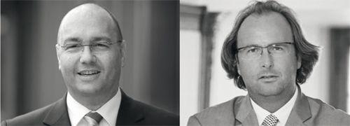 Jürgen Walter (links) und Alain Mestat