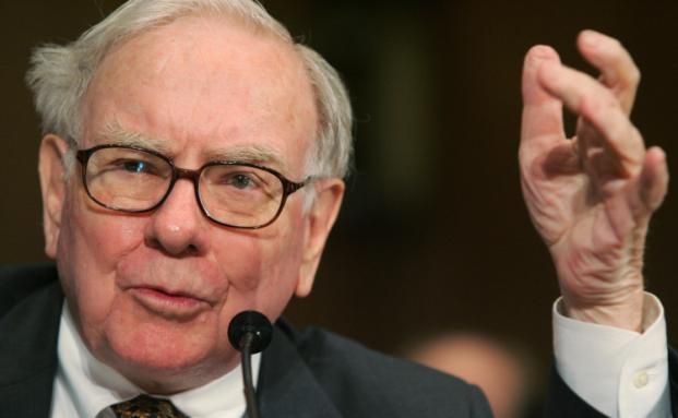Warren Buffett: Das Buch seines eigenen Sohnes hatte den Star-Investor am meisten beeindruckt. Foto: Getty Images