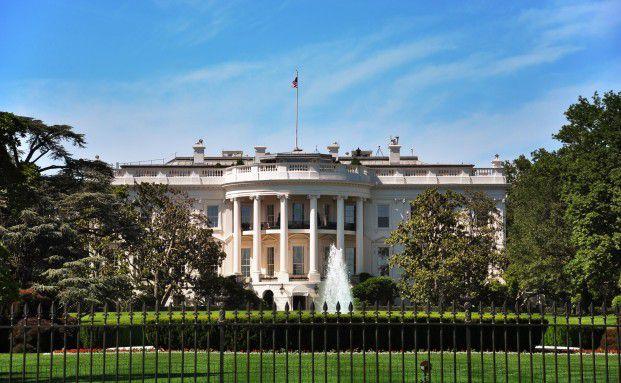 Das Weiße Haus. Quelle: Tim Reinhart/Pixelio