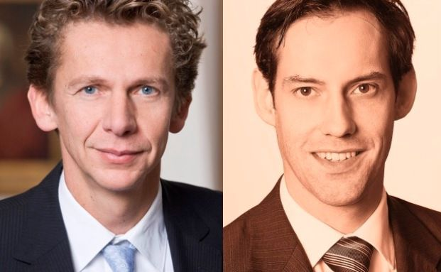 Tom Wede (links) und Axel-Adrian Roestel