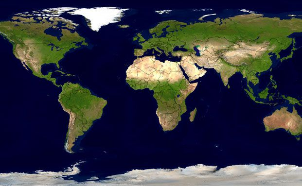 Die Klimaerwärmung betrifft sowohl Kontinente als auch Ozeane (Foto: leiana - Fotolia)