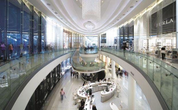 Das Shopping-Center Westfield in London gehört zum Portfolio des Hausinvest