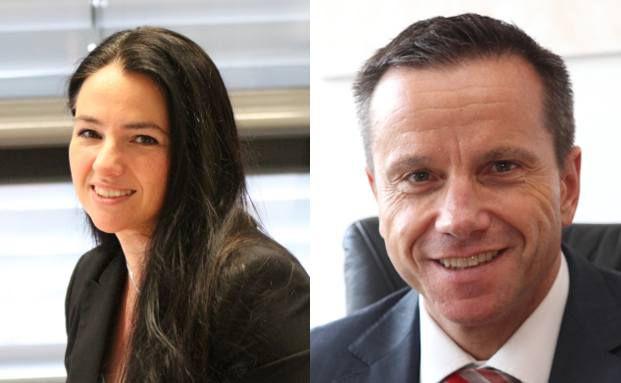 Nicole Weyerstall und Horst Nussbaumer, Vorstandsmitglieder Zurich Deutschland