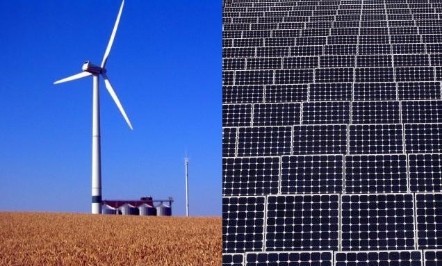 Wind- und Solarenergie: Laut Lloyd Fonds ein unschlagbares <br> Duo Quelle: Getty Images