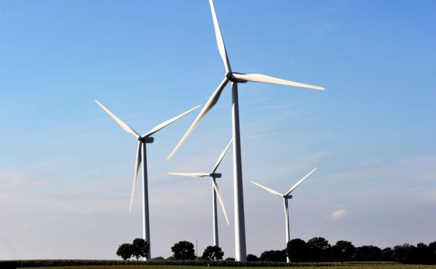 Windpark in Condy-sur-Canche im Norden Frankreichs (Foto: Getty Images)