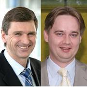 Bernd Neuborn (li.) und<br>Matthias Alten&auml;hr