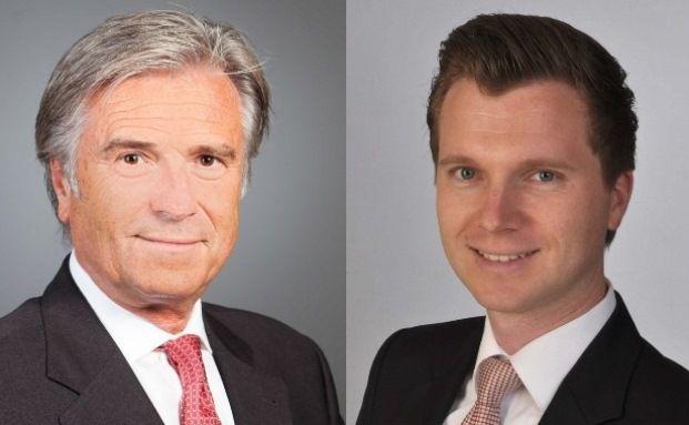 Wolfgang und Thilo Stadler bestimmen die Strategie der I.C.M. Vermögensverwaltung in Mannheim.