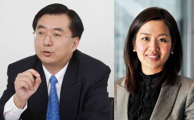 Richard Wong und Mandy Chan