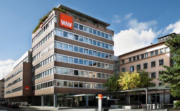 Die Württembergische in Stuttgart. Foto: Württembergische