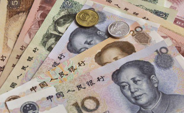 Der chinesische Yuan. Schwellenmarkt-Anleihen <br> in lokalen W&auml;hrungen k&ouml;nnen bis zu 40 Prozent <br> des Portfolios betragen. Quelle: Fotolia