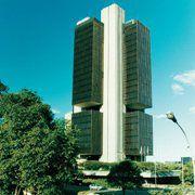 Geb&auml;ude der brasilianischen<br>Zentralbank