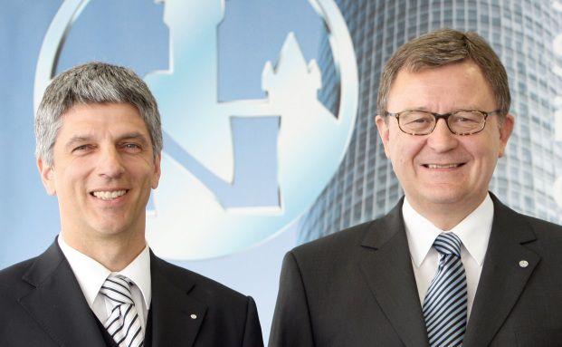 Armin Zitzmann und Werner Rupp (rechts)