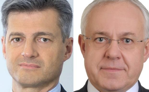 Alan Zlatar (l) und Arpad Pongracz, Vontobel