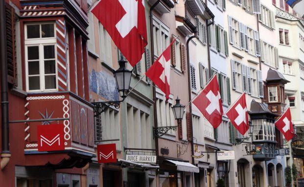 Bankenhauptstadt Zürich. Quelle: Fotolia
