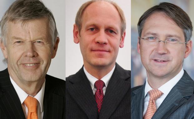 Antea-Manager Jens Ehrhardt, Hendrik Leber <br> und Bert Flossbach (v. li.)