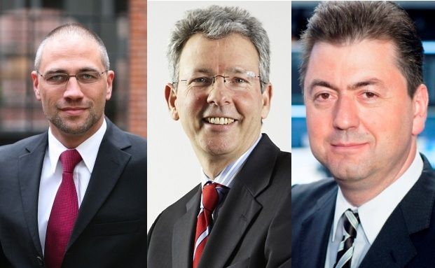 Thorsten Pörschmann, Stefan Freytag, Robert Halver (v.li.)