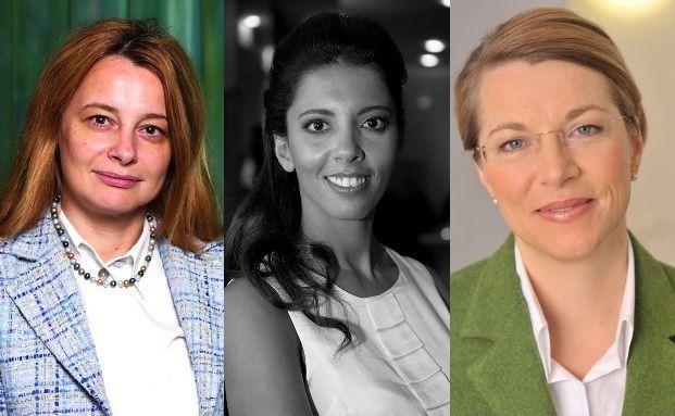 Angelika Millendorfer, Fairouz Bouhmida, Christine Bortenlänger (v. re.)