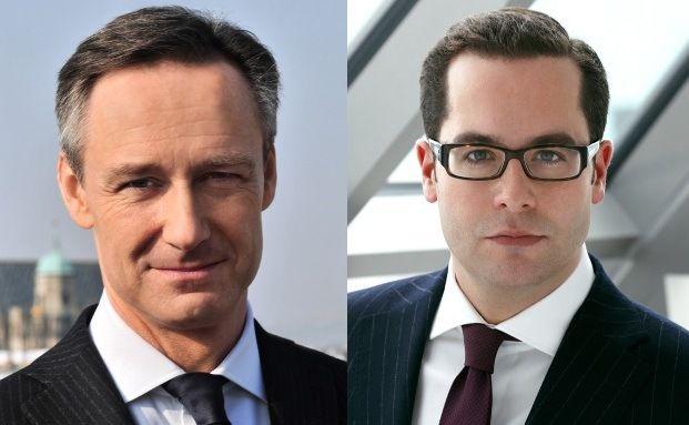 Andreas Wimmer (li.) und Markus Ullmer, neue Vorstandsmitglier <br> bei C-Quadrat